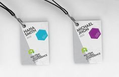 MAI P Global Conference 2011 by Squat Design , via Behance Id Card Design, Badge Design, Web Design, Conference Badges, Conference Branding, Conference Program, Event Branding, Branding Design, Event Logistics