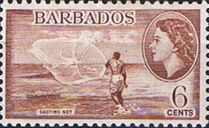 Barbados 1953 QE II SG 294 Scott 240 Other West Indies and British Commonwealth Stamps HERE!