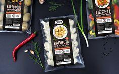 упаковки цветной капусты. картофеля и болгарского перца Food Packaging Design, Packaging Design Inspiration, Branding Design, Wholesale Food, Snack Recipes, Snacks, Pasta, Food Photography, Product Photography