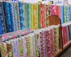 Man oh man, you want to see a kid in a candy shop? Just put two crafters in the Los Angeles Fashion District!!! My Mom and I were giddy! ...