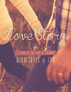 Promote your upcoming Marriage Retreat, Couples Bible Study, or Valentine's Day events at your church with this touching Love Story Song of Solomon church flyer that features a married couple taking a stroll through a field, together.