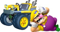 Mario Kart 7 Wario. Draw me like one of your French girls