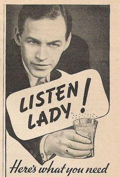 Listen Lady!
