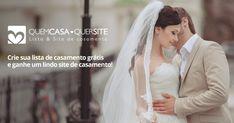 Crie sua lista de casamento convertida em dinheiro na sua conta bancária…
