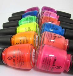 Review & Swatches: China Glaze Summer Neons Collection for 2012 | Beauty Junkies Unite