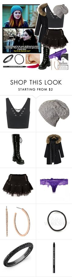 """""""Mandy Milkovich(Shameless)"""" by jeanettebeatrice ❤ liked on Polyvore featuring Miss Selfridge, Nana', Michael Kors, Bare Escentuals and TheBalm"""