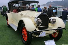 1917 Pierce-Arrow Model 48 4-Passenger Touring - fvr