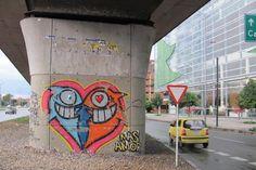 The Best Graffiti Street Art from PEZ.  Bogota 2011.