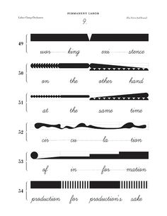 Modular Music Notation - lines. Pinned by Tulane School of Architecture Graduate Government http://architecture.tulane.edu/