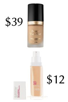 This Maybelline foundation is one of my favorites, so it made my latest list of drugstore makeup dupes. Best Drugstore Dupes, Drugstore Skincare, Armani Lip Magnet, Rms Beauty Living Luminizer, Foundation For Mature Skin, Maybelline Foundation, Best Makeup Products, Elf Products, Beauty Products