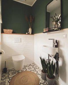 Small Downstairs Toilet, Small Toilet Room, Small Bathroom, Best Bathroom Tiles, Modern Bathroom, Master Bathroom, Wc Design, Toilet Design, Best Bathroom Designs
