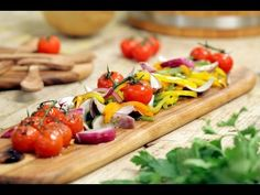 A Sentada - Receita: Salada de Pimentos - YouTube