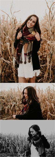 Boise Senior Photographer // Makayla Madden Photography // Idaho Farmstead // Corn Maze // Fall Senior Outfit Ideas Inspiration // Pumpkin Patch // Senior Photography // Senior Pictures // Senior Girl // Fall Aesthetic // Laughter Fun //