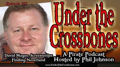"""Screenwriter David Magee tells us the story of getting writing and filming """"Finding Neverland"""" starring Johnny Depp.  It's the story of JM Barrie and the creation of Peter Pan.  http://www.underthecrossbones.com/utc-105-finding-neverland-screewriter-david-magee/"""