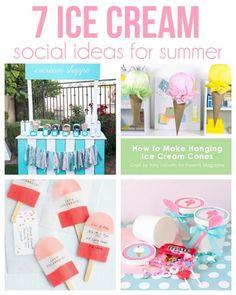 7 sweet ideas for an ice cream social   #BabyCenterBlog