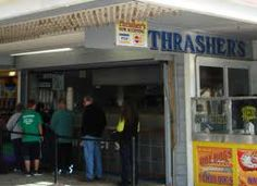 Thrasher fries Ocean City MD