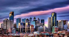 """See 469 photos and 36 tips from 4321 visitors to The City of Calgary. """"The city surprised me in a positive way. Its buildings in downtown makes the. Seattle Skyline, New York Skyline, Immigration Canada, I Am Canadian, Morning Sunrise, Calgary, San Francisco Skyline, Four Square, Places Ive Been"""