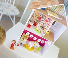 how to create a diy dollhouse