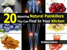 20 Amazing Natural Painkillers You Can Find In Your Kitchen | Idees And Solutions