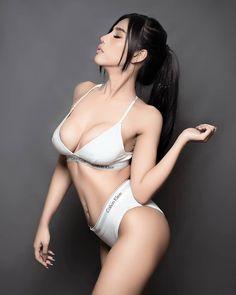 Close My Eyes, Hottest Models, Asian Beauty, Bikinis, Swimwear, Eye Candy, Thong Bikini, Sexy, Cute