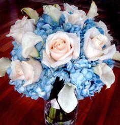 7 kwiatów: Niebieskie kwiaty w bukiecie ślubnym/ Trendy ślubne 2014