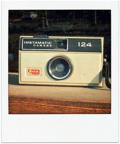Kodak Instamatic 124, Made in USA, Montana, Leeta Harding, 2009