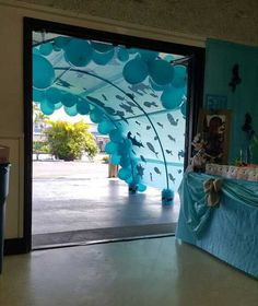 "Sometimes, kid's room decor needs to change according to the season, such as when it is  getting into summer, the ""under the sea"" theme would be perfect for y"