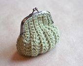 Crochet Coin Purse (Green)