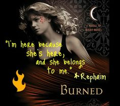 House Of NIght Burned Rephaim