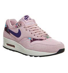 Nike Air Max 1 (l) Pink Aloha Print - Hers trainers