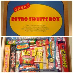 Retro Sweets Box - The Supermums Craft Fair