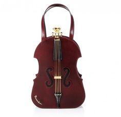 Handbag Braccialini a forma di violino