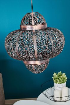 Oriental-looking pendant lamp Etti Colonial Bedroom, French Colonial, Moroccan Style, First Night, Pendant Lamp, Lamp Light, Oriental, Bronze, Ceiling Lights