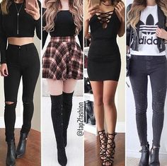 outfits to go Teen Fashion Outfits, Mode Outfits, Cute Fashion, Look Fashion, Outfits For Teens, Dress Outfits, Fall Outfits, Girl Fashion, Summer Outfits