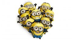 Share your minion love this Valentine's Day! #Minions #Love #Heart #ValentinesDay