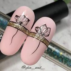 Elegant Nail Art, Trendy Nail Art, New Nail Art, Nail Art Diy, Beautiful Nail Art, Diy Nails, Nail Art Designs Videos, Nail Art Videos, Lace Nails
