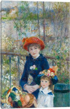 Canvas Wall Art by Pierre-Auguste Renoir — iCanvas