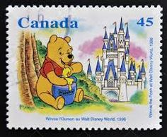 Winnie the Pooh at Walt Disney World, 1996 - Canada Postage Stamp Walt Disney World, Disney World Florida, Winnie The Pooh Friends, Postage Stamp Art, Stamp Printing, Pooh Bear, Cute Disney, Fauna, Disney Pictures