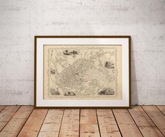 City Map of Exeter Exeter Old Map Exeter Map Exeter Map