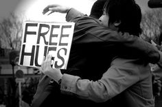 free hugs campaign:  www.freehugscampaign.org