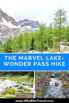 The Marvel Lake - Wonder Pass hike on the BC-Alberta border gets you to Mt Assiniboine Provincial Park where the hiking is sublime Columbia Outdoor, Places To Travel, Places To Visit, Camping And Hiking, Backpacking, Visit Canada, Adventure Activities, Best Hikes, Day Hike