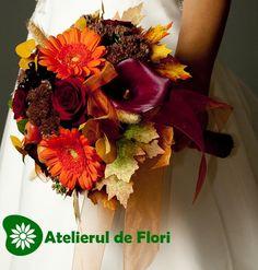 buchet de mireasa toamna cu trandafiri si gerbera Gerbera, Wedding Flowers, Wreaths, Fall, Wedding Ideas, Home Decor, Google, Autumn, Decoration Home