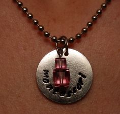 Montessori necklace by TheJewelryChicks on Etsy, $21.00