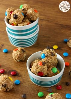 Monster Cookie Granola Bites Recipe