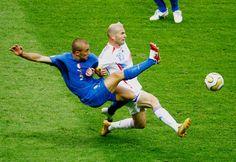 Fabio Cannavaro vs. Zinedine Zidane
