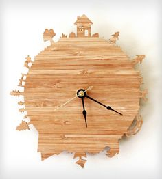 Home Sweet Home Wall Clock | Home Decor | iluxo Jewelry and Design | Scoutmob Shoppe | Product Detail