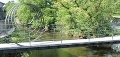 Easy walks in the Lake District - New bridge at Staveley copyright LDNPA