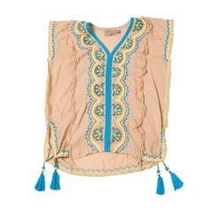 Summer Breeze Kids Kaftan Dress