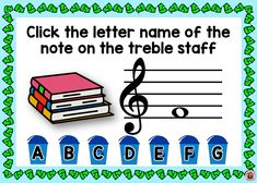 Reinforce student knowledge and recognition of the notes on the TREBLE STAFF with this fun deck that's perfect for EARTH DAY themed music lessons! There are 26 cards in the deck. Each card gives the student one treble note to identify. This game uses both treble staff lines and spaces. ♫ ♫ #musiceducation #musicteacherresources #mtr #boomcardsformusic #boomcards Music Teacher Resources
