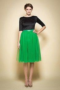 Fusta tulle verde midi Hurem Waist Skirt, Midi Skirt, High Waisted Skirt, Fashion Beauty, Personal Style, Ballet Skirt, Style Inspiration, Skirts, Dresses